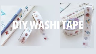 DO-IT-YOURSELF Washi Tape | Create With Me 03