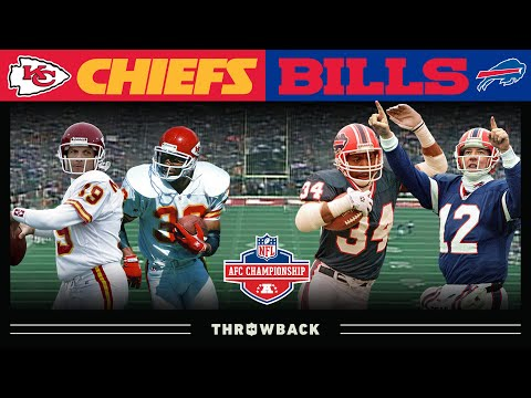 Star-Studded Veteran Teams Battle For AFC Crown! (Chiefs vs. Bills 1993 AFC Championship)
