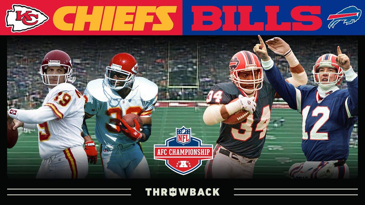 Star-Studded Veteran Teams Battle For AFC Crown! (Chiefs vs. Bills 1993 AFC Championship)