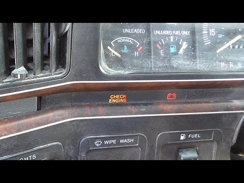Reading 1980-95 Ford OBD1 Trouble Codes
