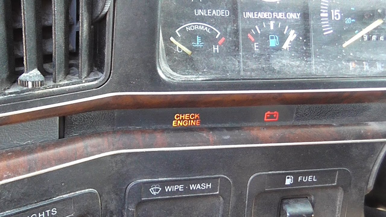 Reading 1980 95 Ford Obd1 Trouble Codes Youtube 1982 Chevy Truck Courtesy Light Wiring Diagram Premium