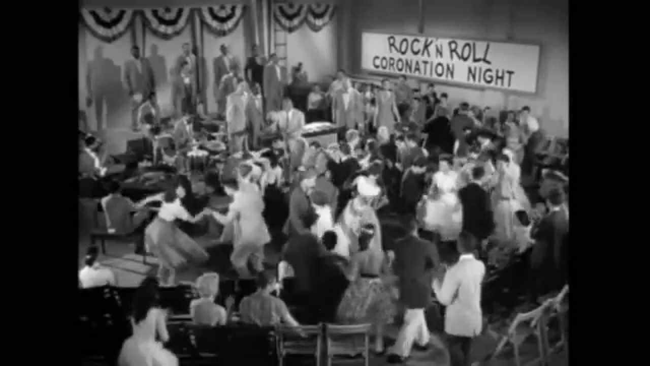 Rock Amp Roll Dance 1957 Youtube