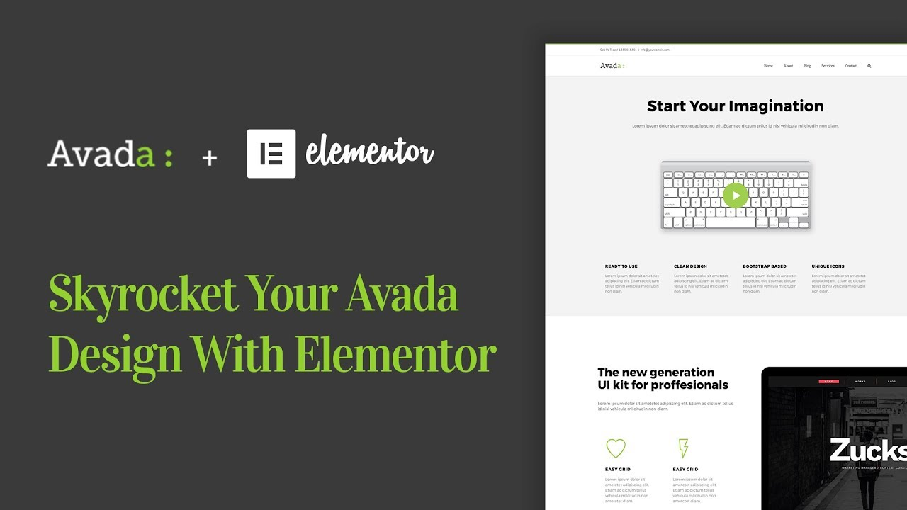 Skyrocket Your Avada WordPress Theme With Elementor page builder ...