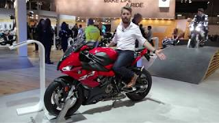 OMG! 2019 BMW S1000RR - quick review from EICMA 2018