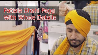 Pooni + Patiala Shahi Pagg with Whole Details