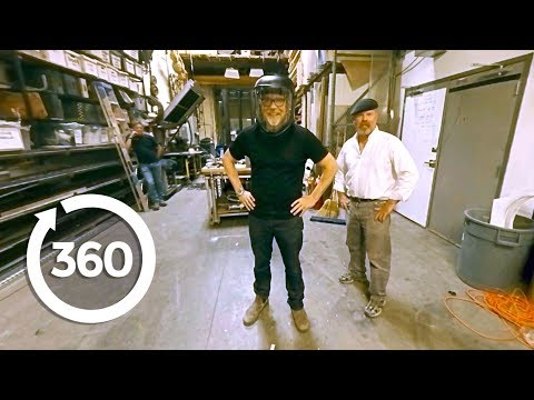 Drum Implosion | MythBusters (360 Video)