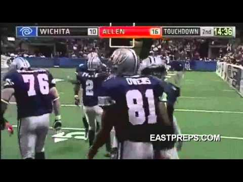 Terrell Owens (TO) Allen Wranglers with his first Touchdown and Catch in the IFL