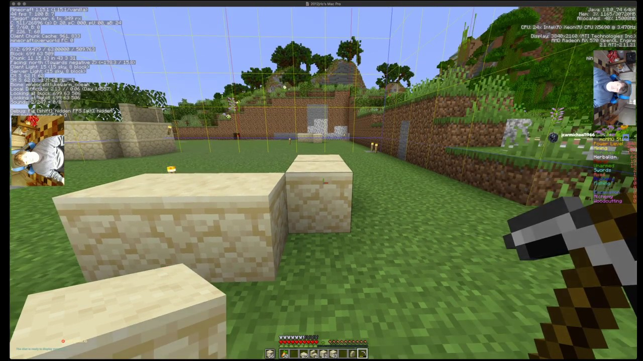amplified minecraft pc/mac only - YouTube