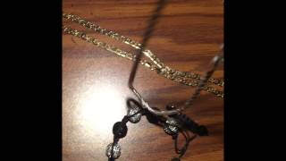 Hip hop bling review!! 3 chains and 2 shambala bracelets