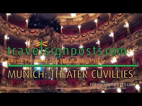 The Cuvilliés Theater: Europe's finest surviving Rococo theatre.
