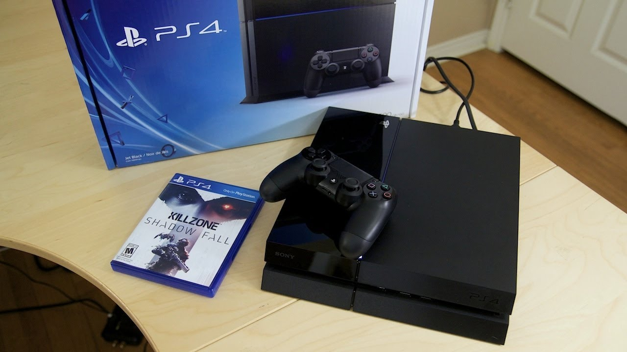 Sony Playstation 4 Unboxing Amp Setup Youtube