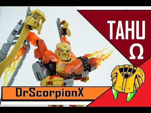 Bioformer Reviews: Tahu Omega (Tahu / Protector of Fire)