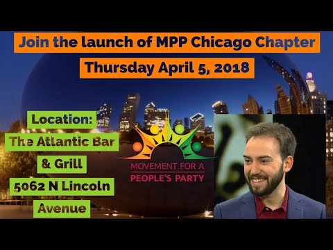 Chicago Movement For a People's Party Chapter Launch