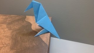 Daily Origami: 042 - Crow