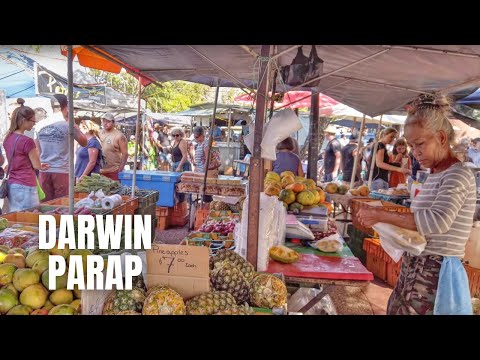 Darwin Australia (Parap Markets) Walking Tour【2019】
