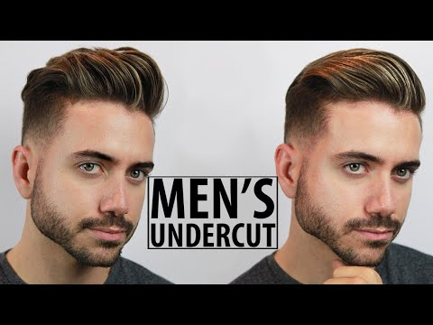 Disconnected Undercut - Haircut and Style Tutorial | 2 Easy Hairstyles for Men | Alex Costa