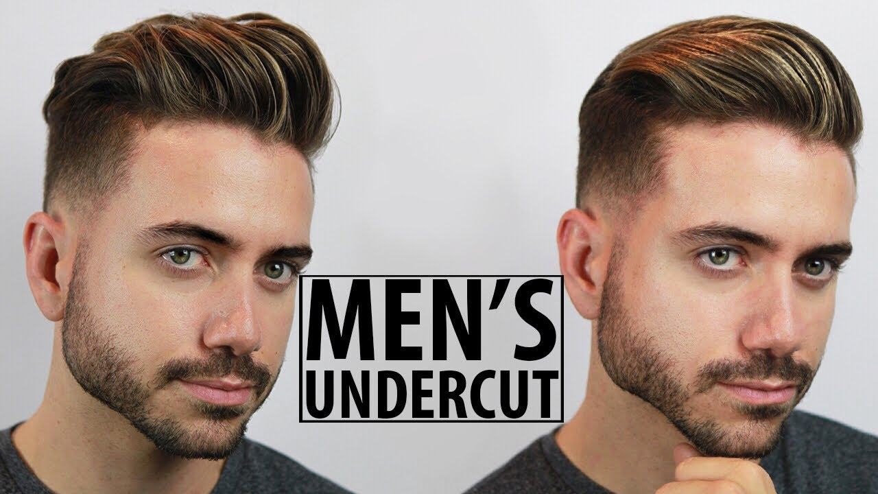 Mens Hair Cut Style: Disconnected Undercut - Haircut And Style Tutorial