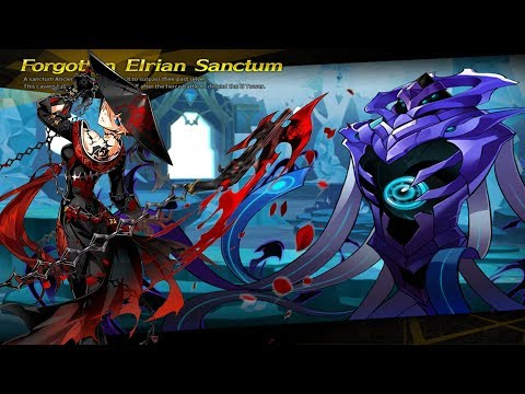 [Elsword] Black Massacre 11-6 Dungeon Play (Forgotten Elrian Sanctum)