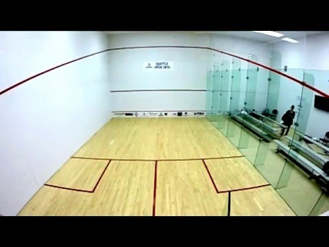 Seattle Squash Open 2016 - First Round Coverage