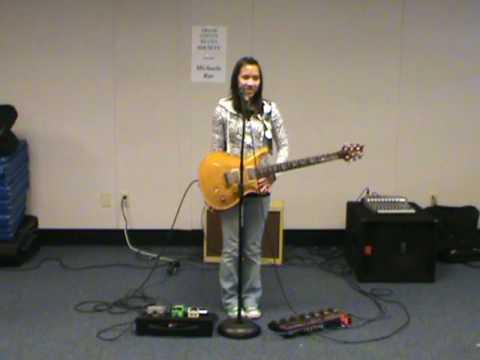 Michaela at Indian Peaks Charter School in Granby, Colorado - Intro & Jam #1