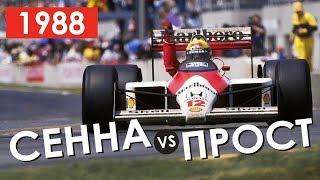Легендарный МсLaren MP 4/4 | Формула 1 | Обзор сезона 1988