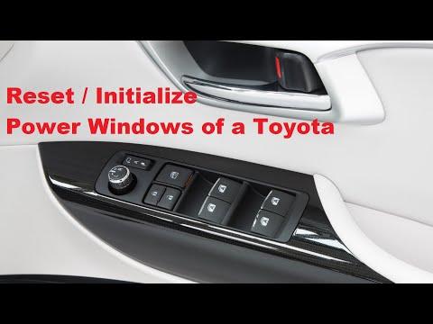 Toyota Power Window Reset | Driver Side Control | Fix Auto Power Windows. Urdu / Hindi / English Sub