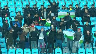 Khojiakbar Alijonov opens the scoring for Uzbekistan against China!
