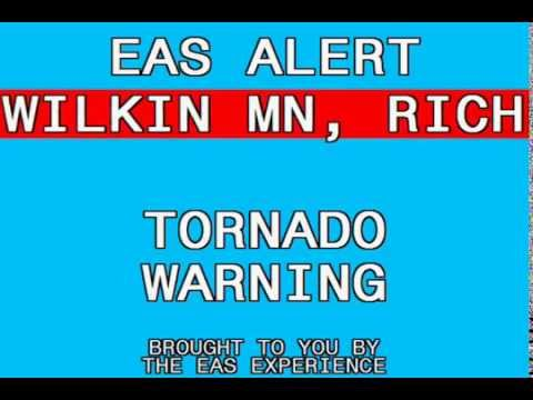 Tornado Warning: Minnesota & North Dakota (8/6/13)