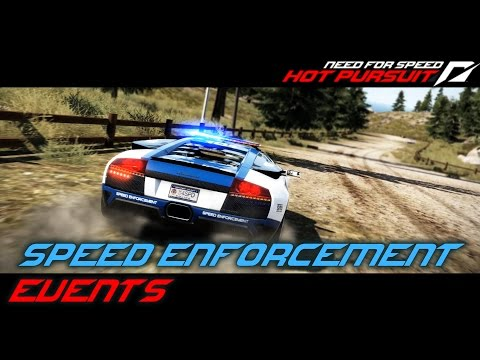 Need for Speed: Hot Pursuit (2010) - Speed Enforcement Events (PC)