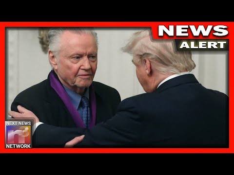 ALERT: Trump Surprises Famous Actor Jon Voight With Award - His Next Move is EPIC