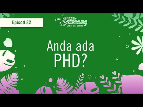 Ep. 32 : Anda ada PHD?