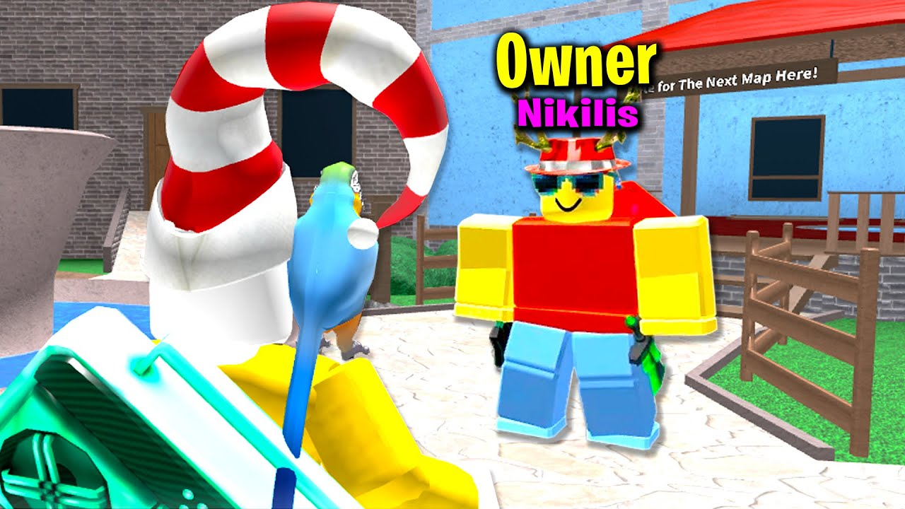 Luckiest Roblox Murder Mystery 2 Of 2020 Roblox بواسطة Ant Murder Mystery 2 Owner Nikilis Joined My Game Youtube