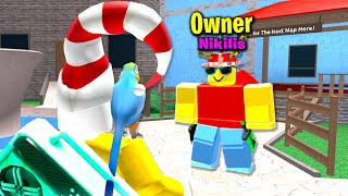 Murder Mystery 2 Owner (Nikilis) Joined My Game...