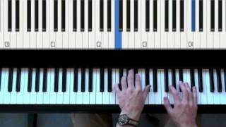 Clocks By Coldplay On The Piano - Easy Rock Piano Patterns