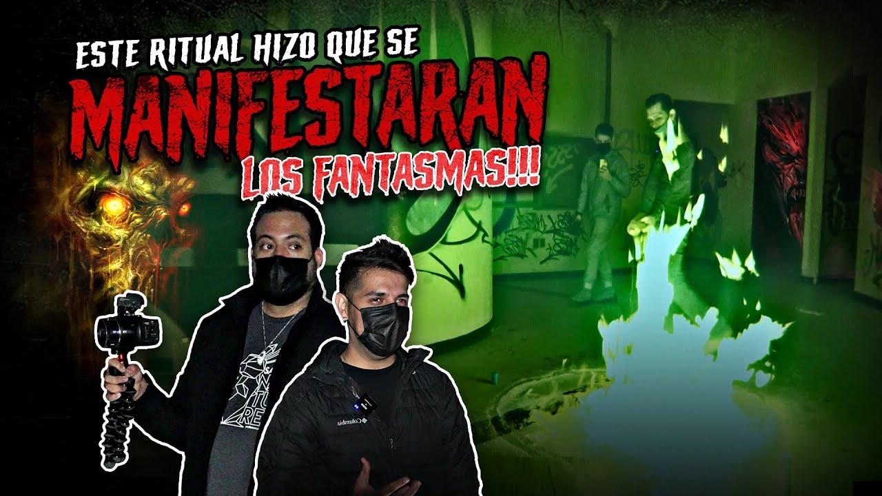 Este ritual hizo que se manifestaran los fantasmas!!! Ft Víctor González