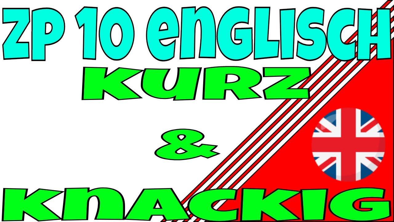 Vorgaben Englisch