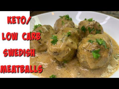 Creamy Delicious KETO Swedish Meatballs