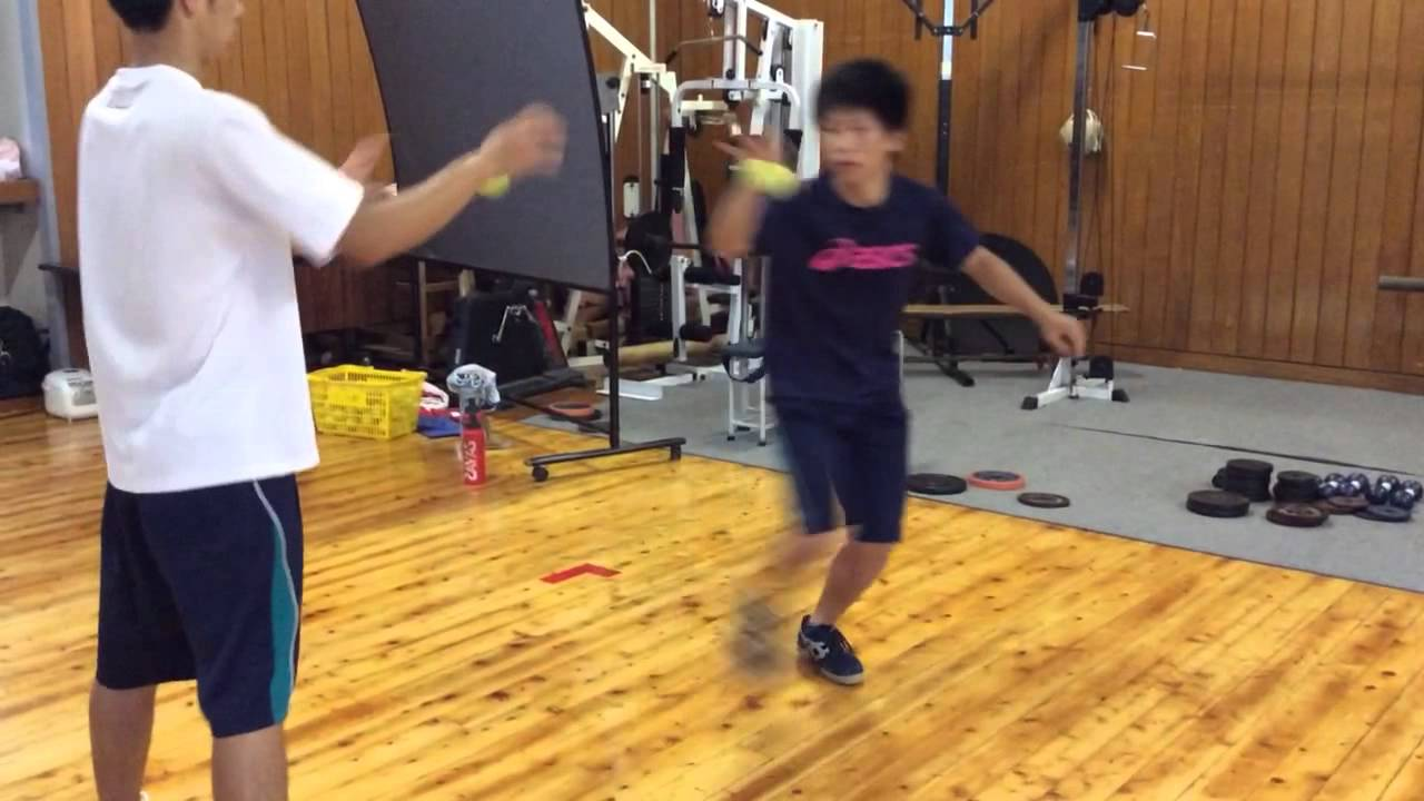 Handball Footwork Training (an example of coordination training)