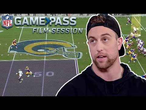 Adam Thielen Breaks Down High-Points, Routes, & Toe Taps | NFL Film Session
