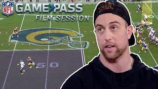 Adam Thielen Breaks Down High-Points, Routes, & Toe Taps   NFL Film Session