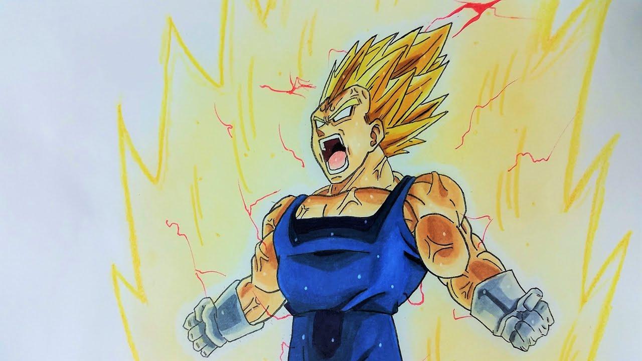Drawing Majin Vegeta ~ Final Explosion (Dokkan Battle ...