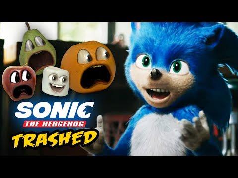 Annoying Orange - Sonic The Hedgehog Trailer TRASHED!
