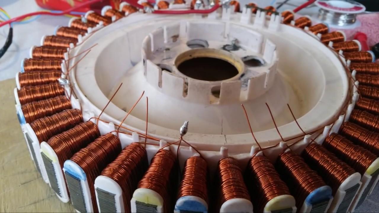 Make Wiring Diagram Rewiring A Smartdrive Motor For Hydro Wind Generator Youtube