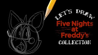 Let's Draw Five Nights At Freddy's Compilation