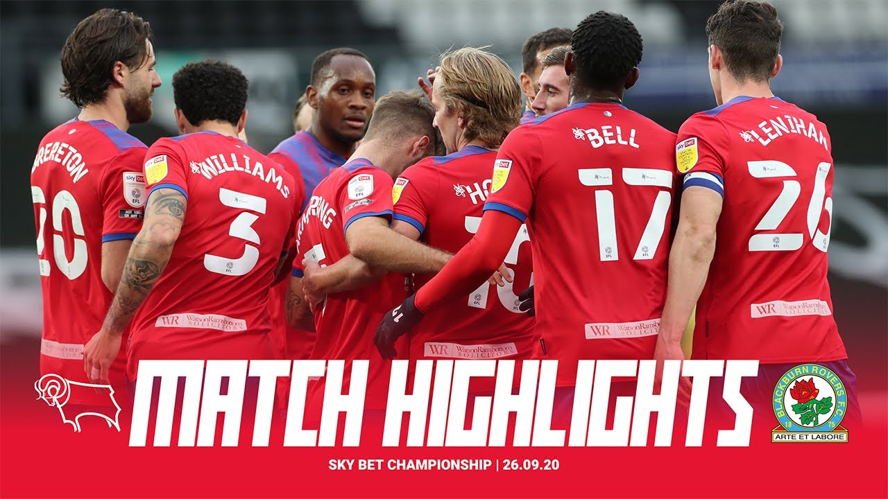 Highlights: Derby County 0-4 Rovers