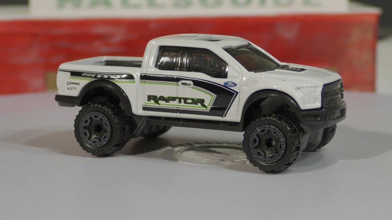 Hotwheel 17 ford f150 raptor