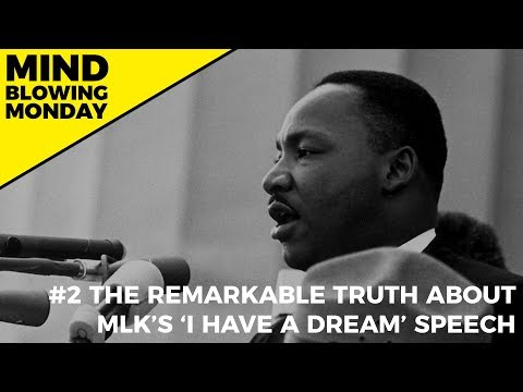 The Remarkable Truth About MLK's 'I Have A Dream' Speech
