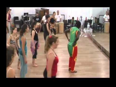 Danzas de  Africa (Togo) en Montevideo
