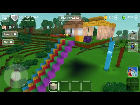Block Craft 3D: Building Simulator Games For Free Gameplay#863 (iOS & Android) | Sky House 🏠