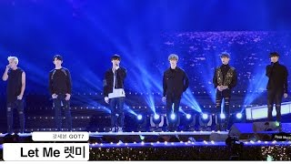 Video 갓세븐 GOT7[4K 직캠]Let Me 렛미@20161022 Rock Music download MP3, 3GP, MP4, WEBM, AVI, FLV Agustus 2018